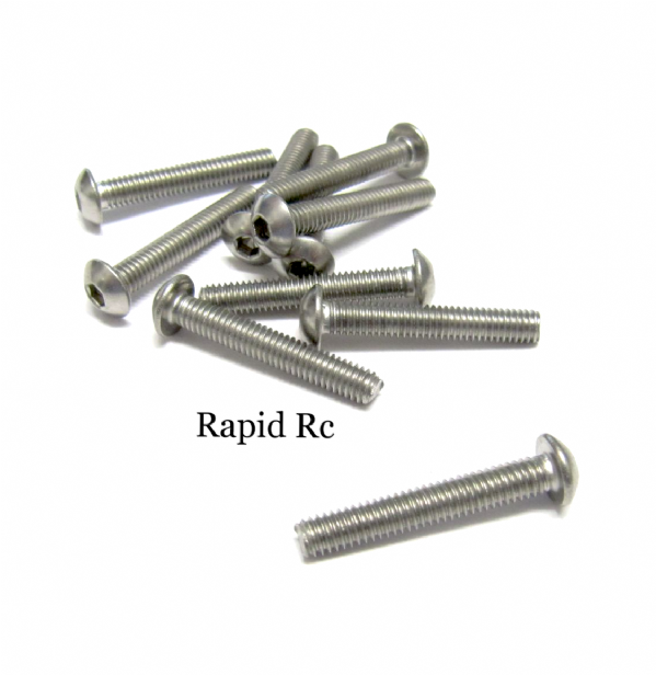 stainless Steel socket Button head Bolt A2 M4x25mm